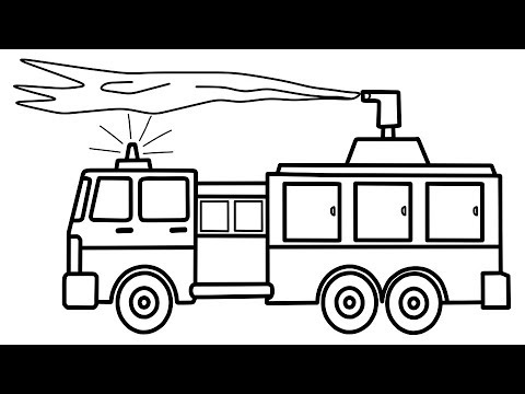 how to draw fire engine how to draw fire truck easy step by step jelly colors draw to engine how fire