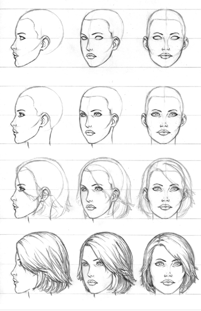 how to draw girls how to draw a girl easy drawingforallnet draw to how girls