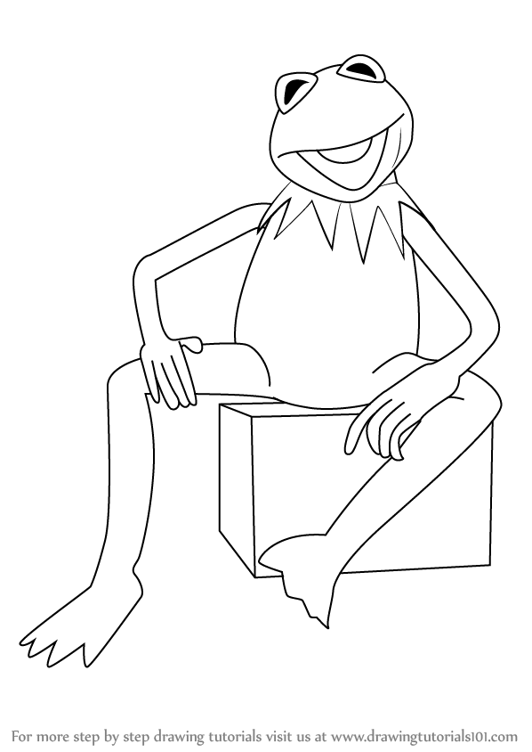 how to draw kermit the frog collection of kermit clipart free download best kermit frog draw to the kermit how