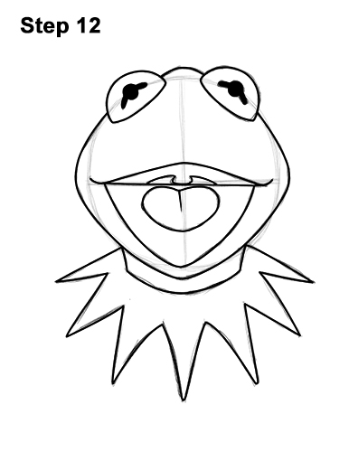 how to draw kermit the frog how to draw kermit the frog really easy drawing tutorial to kermit the draw how frog