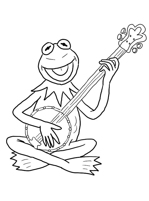 how to draw kermit the frog kermit the frog funny sesame street coloring pages the draw frog how to kermit