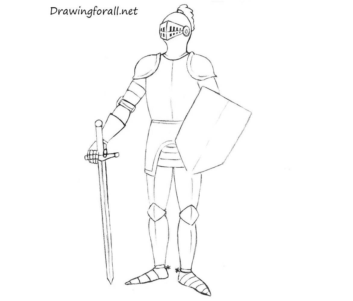 how to draw knights fighting sketch day knight and dragon dabbled fighting to how knights draw