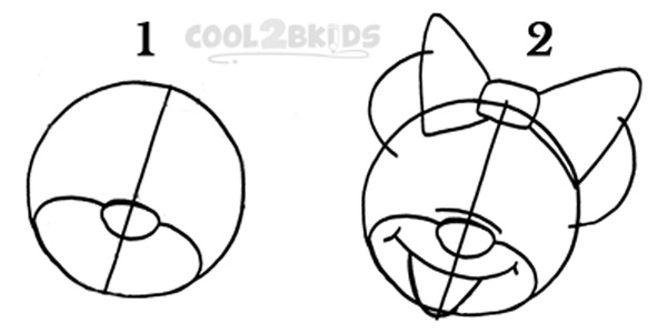 how to draw minnie mouse step by step how to draw minnie mouse mouse step draw step to minnie by how
