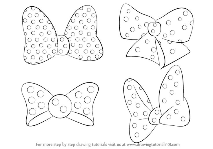 how to draw minnie mouse step by step minnie mouse line drawing at getdrawings free download by step mouse minnie draw step to how