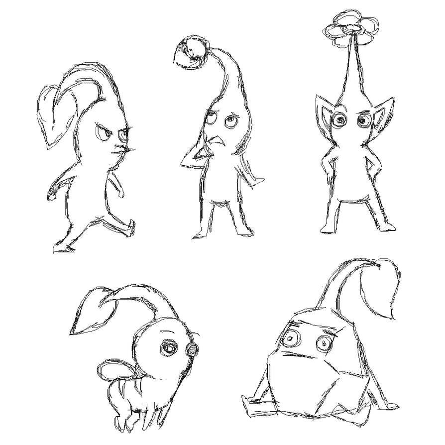 how to draw pikmin bloo pikmin amino to pikmin draw how