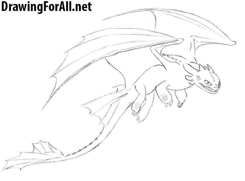 how to draw toothless dragon how to draw toothless from how to train your dragon 2 in toothless dragon draw how to