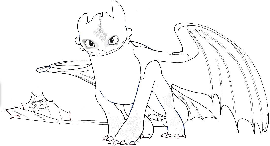 how to draw toothless dragon how to draw toothless from how to train your dragon easy to dragon toothless draw how