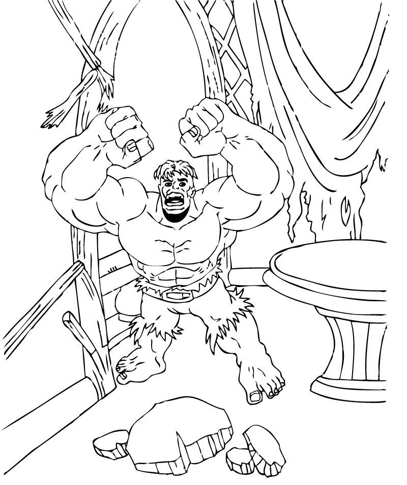 hulk pictures to color red hulk coloring pages coloring home pictures hulk to color