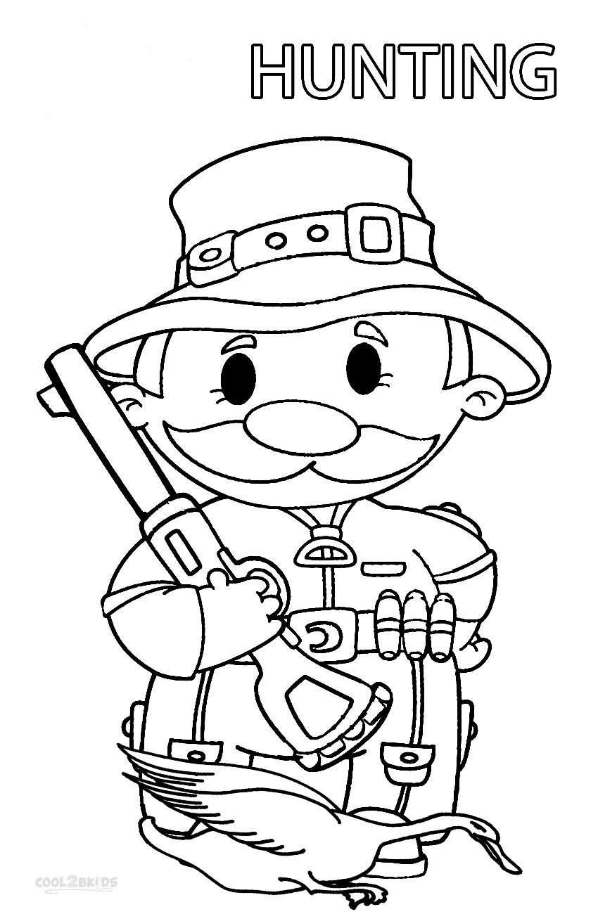 hunting coloring sheets printable hunting coloring pages for kids cool2bkids sheets hunting coloring