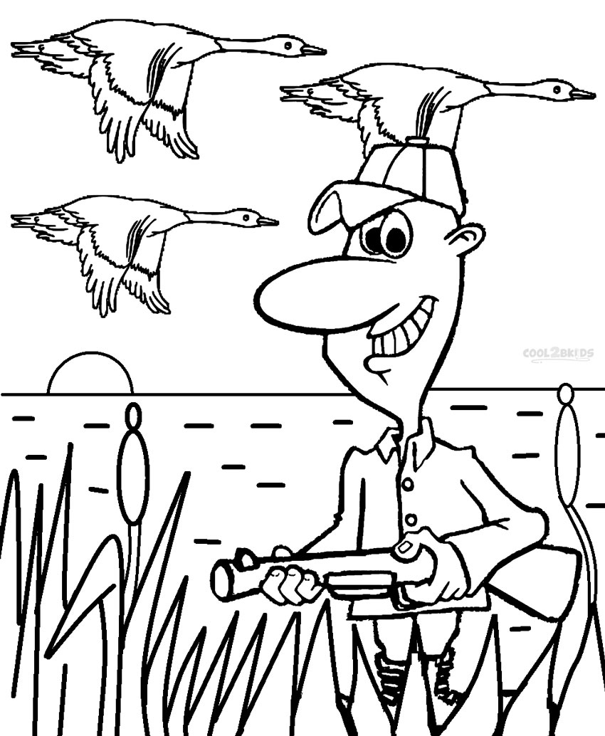 hunting coloring sheets printable hunting coloring pages for kids cool2bkids sheets hunting coloring 1 1