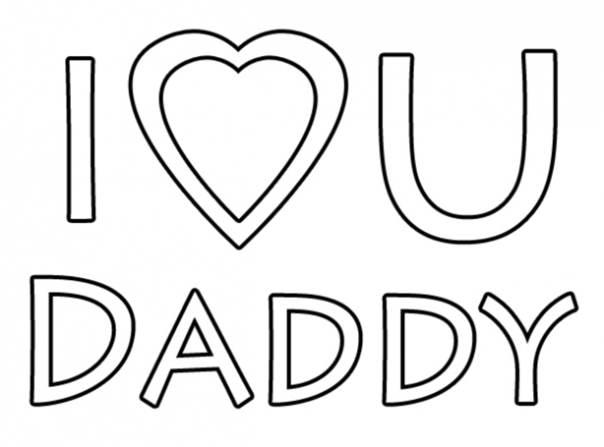 i love my dad coloring pages happy father39s day clip art hubpages i pages dad love coloring my