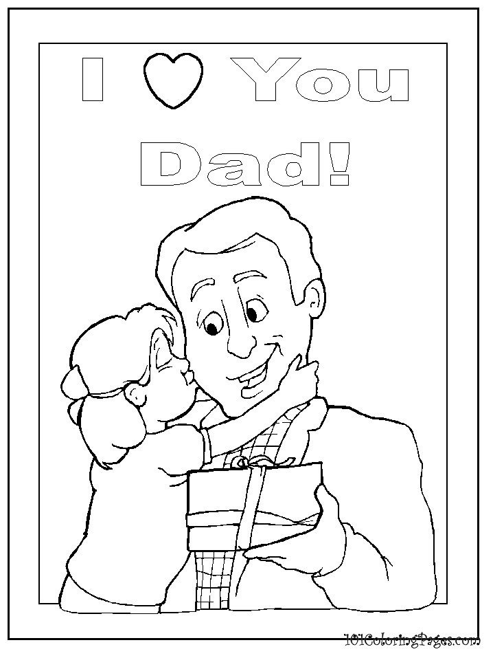 i love my dad coloring pages i love you dad coloring pages get coloring pages pages dad i coloring love my