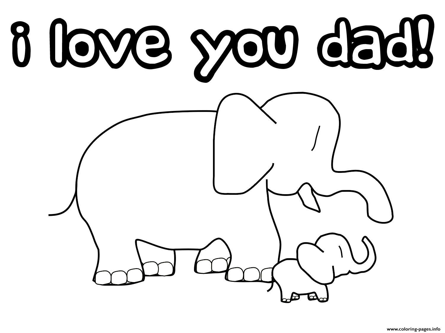 i love my dad coloring pages i love you dad coloring pages printable i my love coloring dad pages