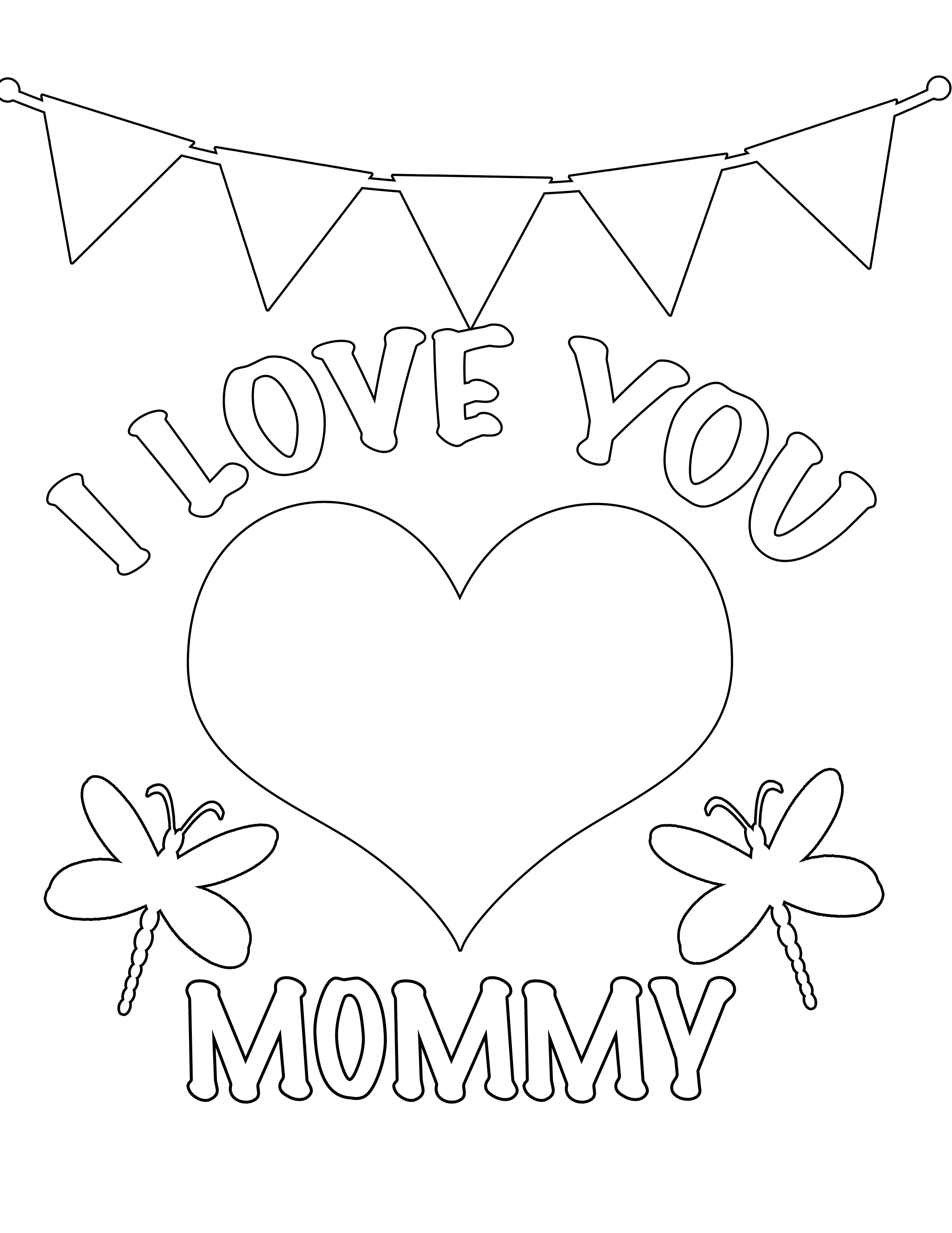 i love my mommy coloring pages free printable coloring pages for mom simple mom project love coloring i pages my mommy