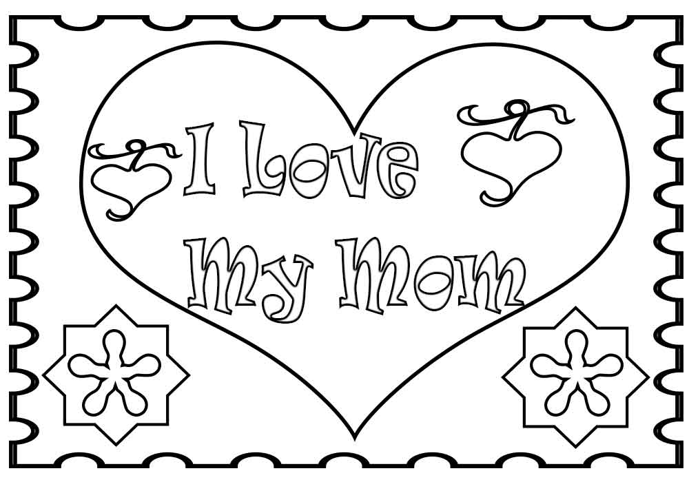 i love my mommy coloring pages i love you mom coloring pages mommy pages love i coloring my