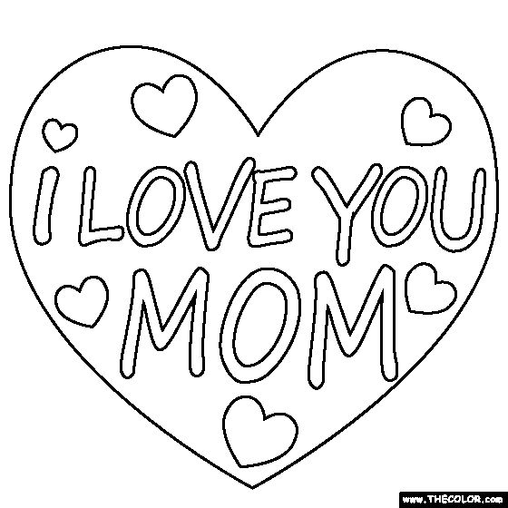 i love my mommy coloring pages i love you mom coloring pages pages i mommy coloring love my