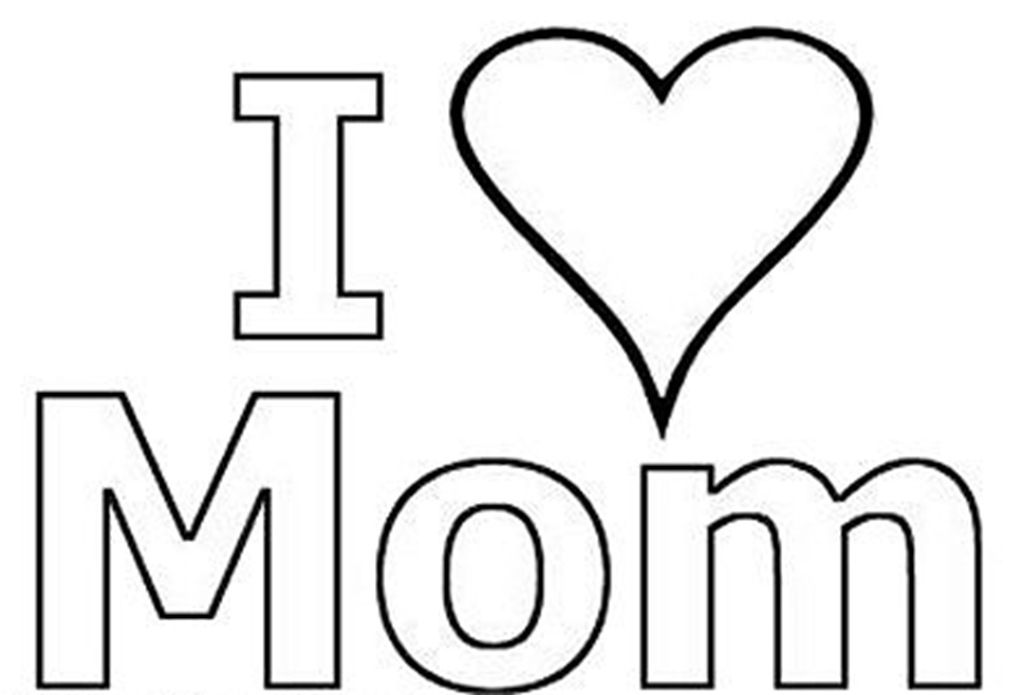 i love my mommy coloring pages i love you mom coloring pages pages mommy coloring i love my