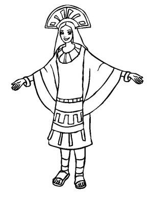 inca coloring pages adult totem inspiration inca mayan aztec 2 coloring pages coloring inca pages