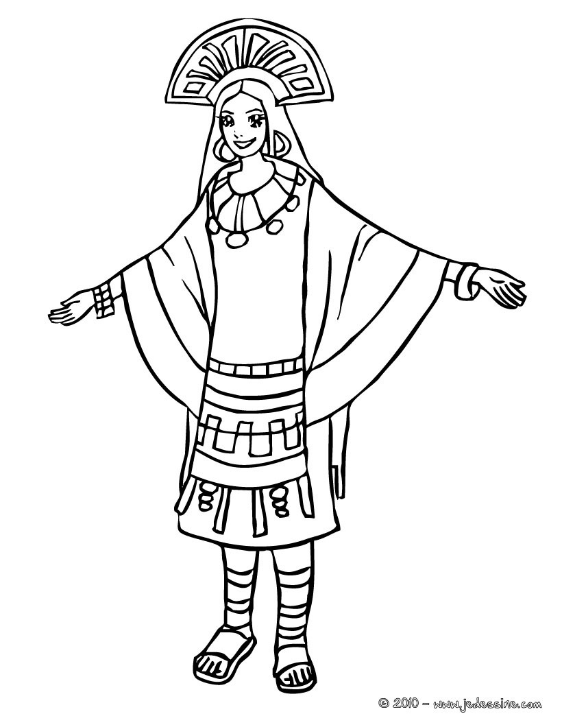 inca coloring pages inca drawing at getdrawings free download inca coloring pages