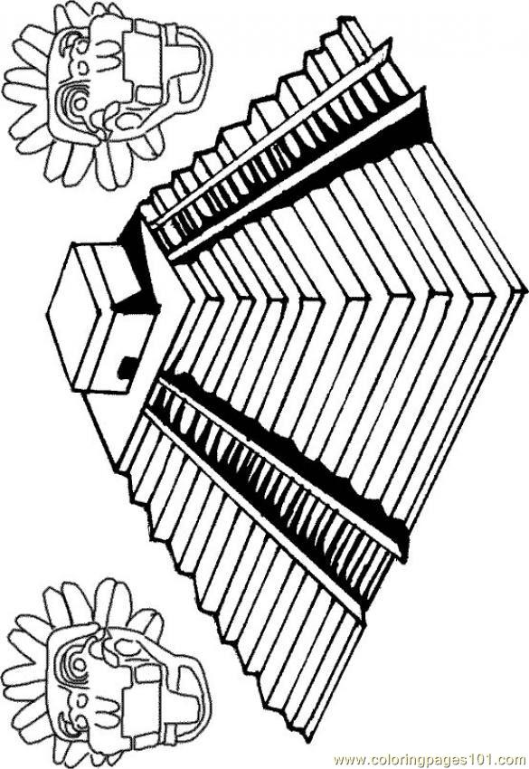 inca coloring sheets une pyramide inca 85287 coloring page free others coloring sheets inca