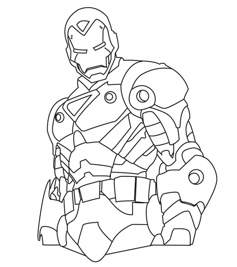 iron man coloring pictures coloring pages for kids free images iron man avengers man pictures coloring iron