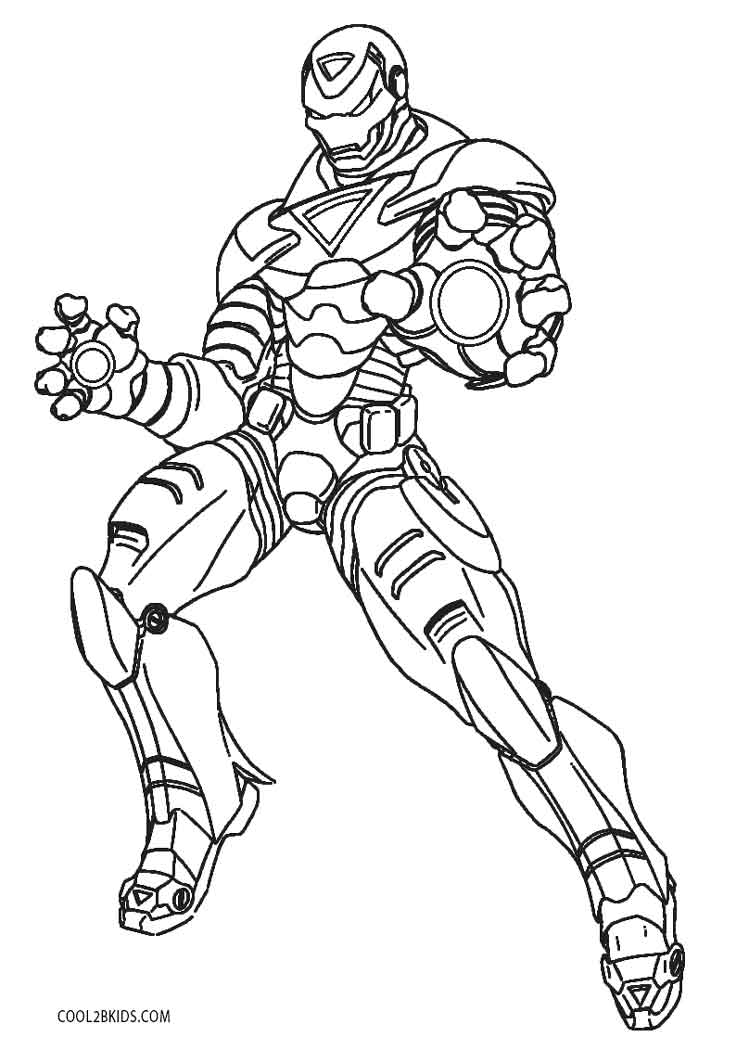 iron man coloring pictures iron man superheroes printable coloring pages coloring iron man pictures