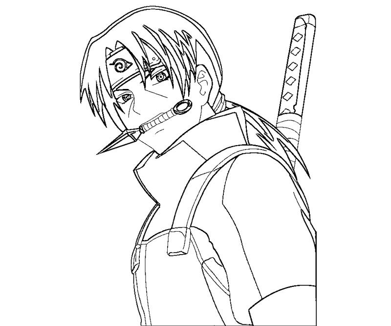 itachi coloring pages itachi drawing at getdrawings free download itachi pages coloring