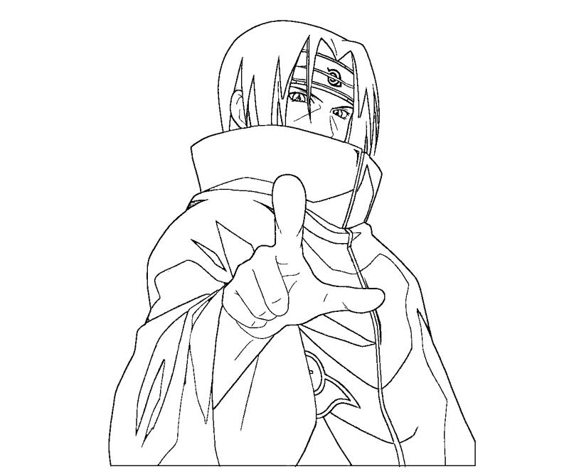 itachi coloring pages itachi uchiha 7 coloring crafty teenager pages itachi coloring