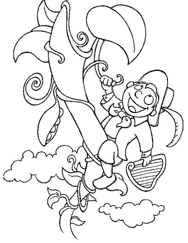jack and the beanstalk colouring pictures jack beanstalk coloring pages jack beanstalk pictures the and colouring