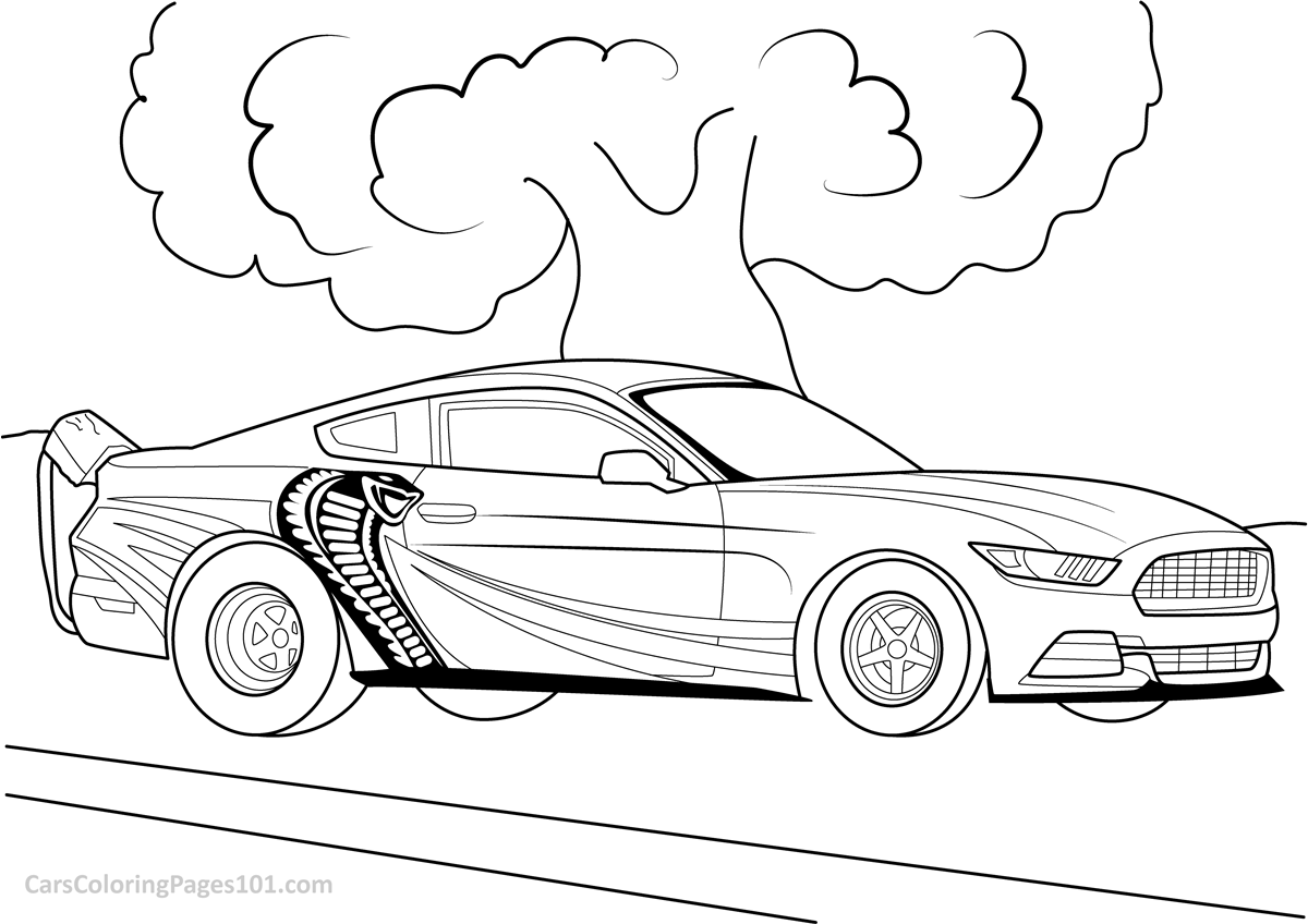 jet car coloring pages ford mustang cobra jet 2016 front view coloring page car pages jet coloring