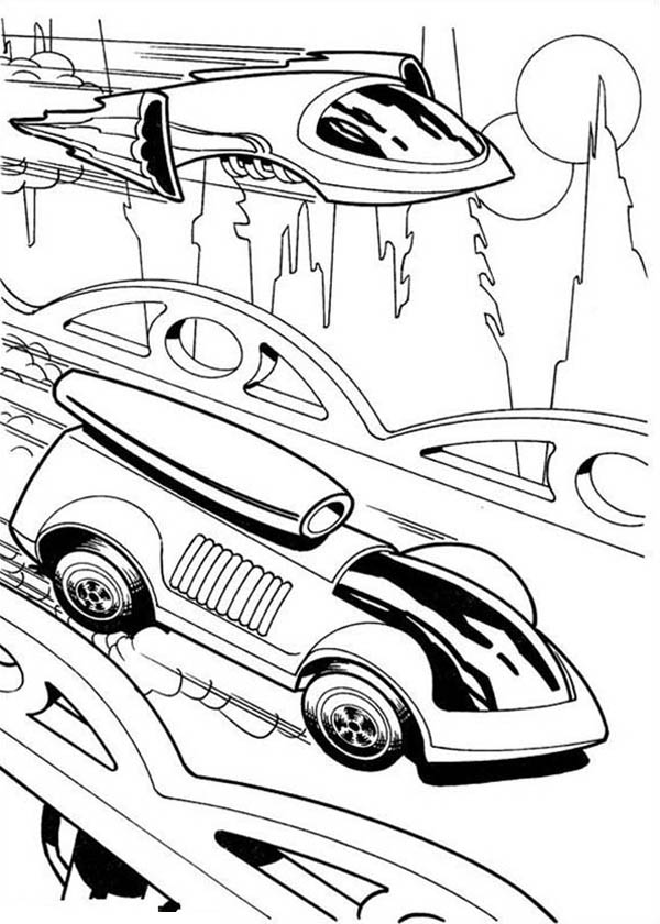 jet car coloring pages hot wheels netart pages jet coloring car