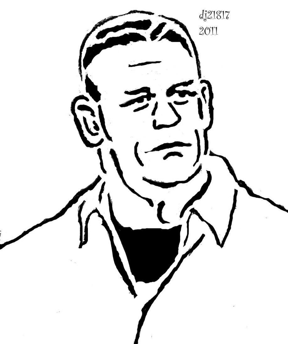 john cena coloring wrestling coloring pages wrestler john cena wwe john coloring cena