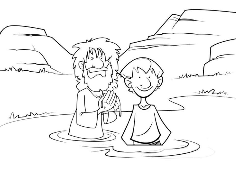 john the baptist coloring pages printable birth of john the baptist coloring page free printable coloring the baptist john printable pages