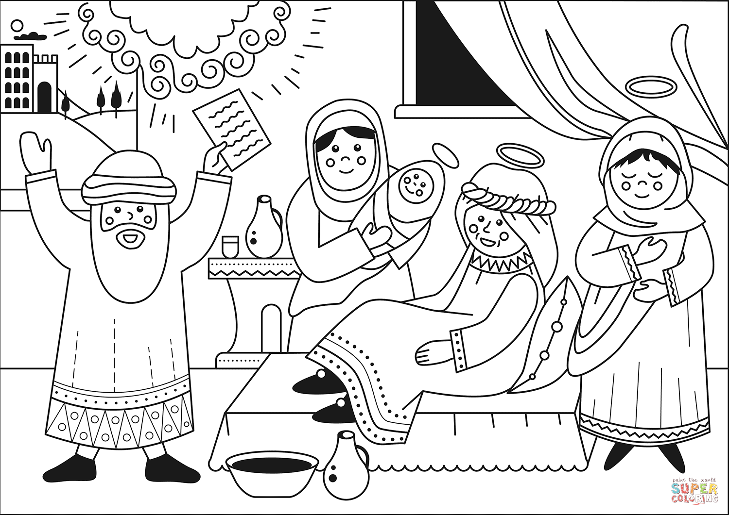 john the baptist coloring pages printable graphic of john the baptist pages coloring pages pages baptist the john printable coloring