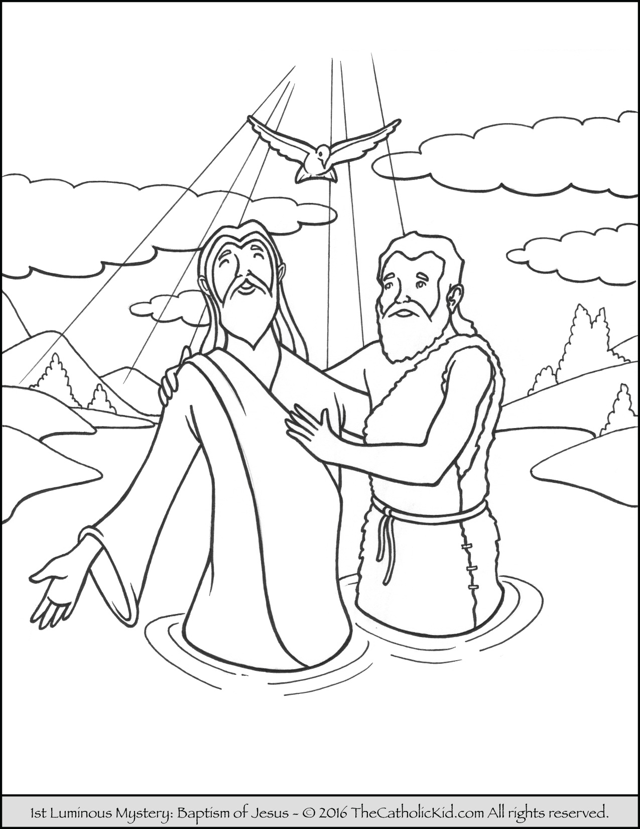 john the baptist coloring pages printable saint john the baptist coloring pages the catholic kid baptist john pages the printable coloring