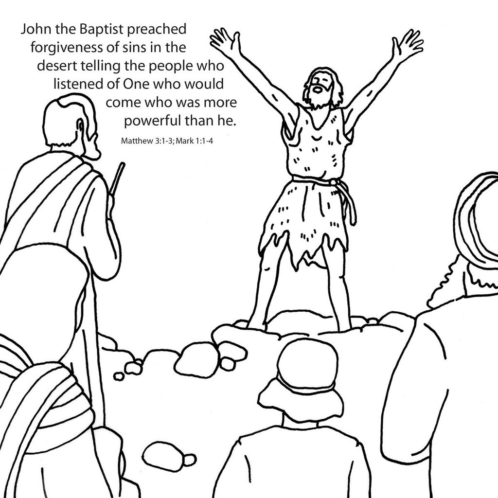john the baptist coloring pages printable saint john the baptist coloring pages the catholic kid coloring the pages printable john baptist