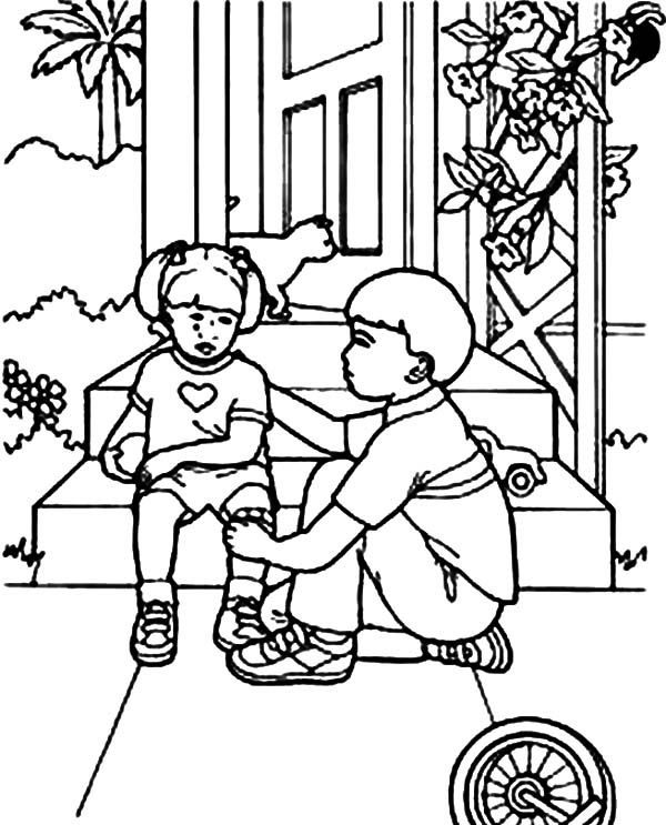 kindness bible coloring pages sunday school printable helping others lds coloring pages coloring bible kindness