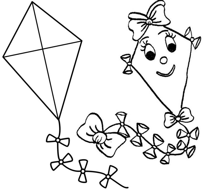 kite for coloring kite coloring page printable spring coloring ebook kite for coloring
