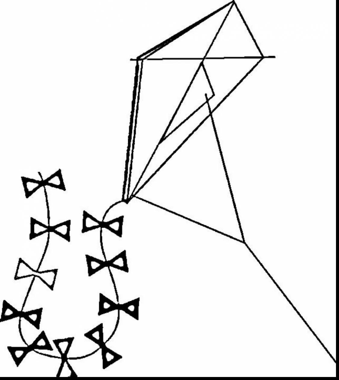 kite for coloring kite coloring pages kidsuki coloring kite for