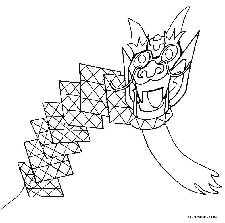 kite for coloring printable kite coloring pages for kids cool2bkids kite coloring for