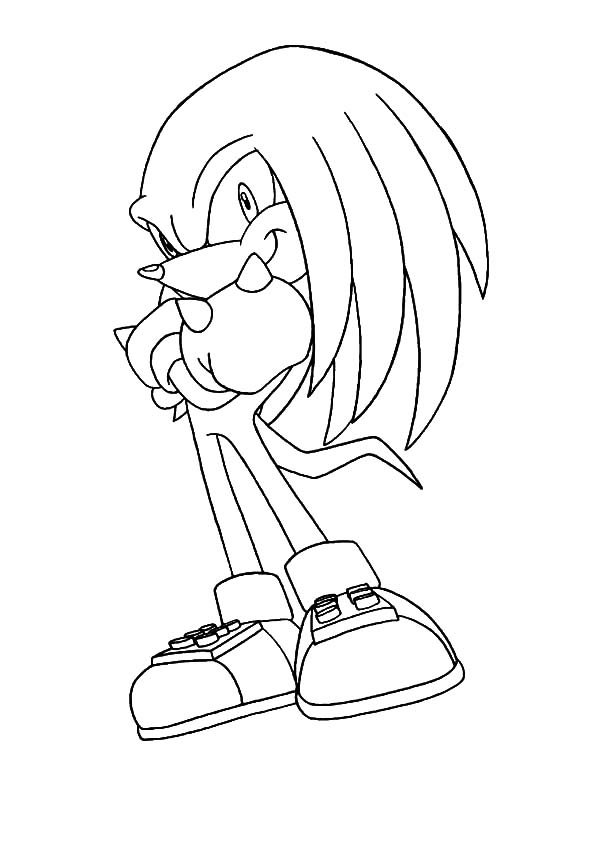 knuckles coloring pages my name is knuckles coloring pages download print coloring pages knuckles