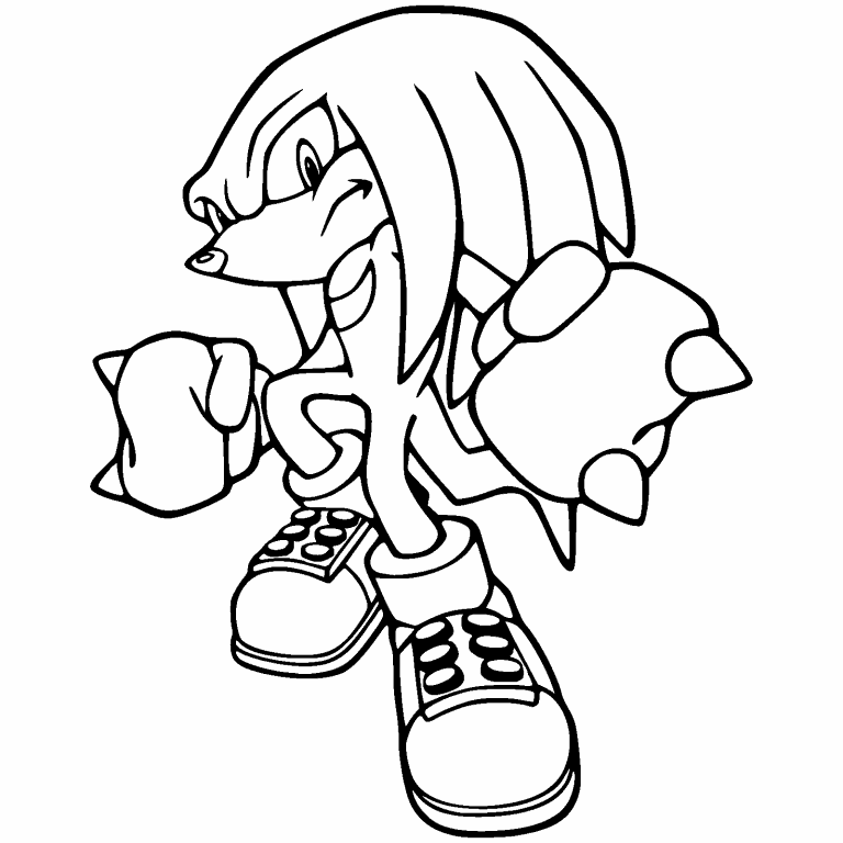 knuckles coloring pages sonic coloring pages knuckles coloring home pages knuckles coloring
