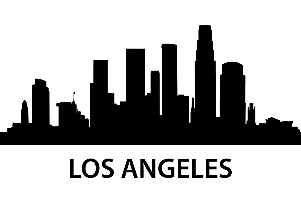 la skyline outline image result for los angeles skyline los angeles skyline skyline outline la