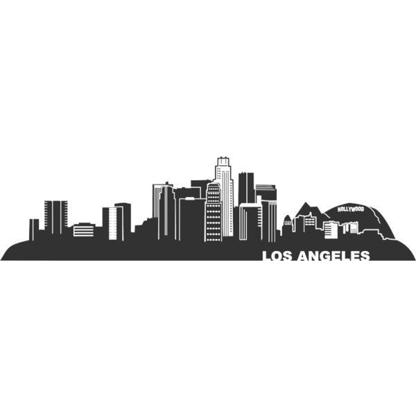 la skyline outline los angeles skyline outline skyline la outline