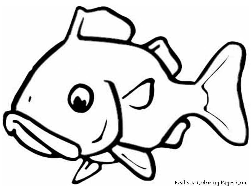 large fish coloring page free fish coloring pages for kids page coloring large fish