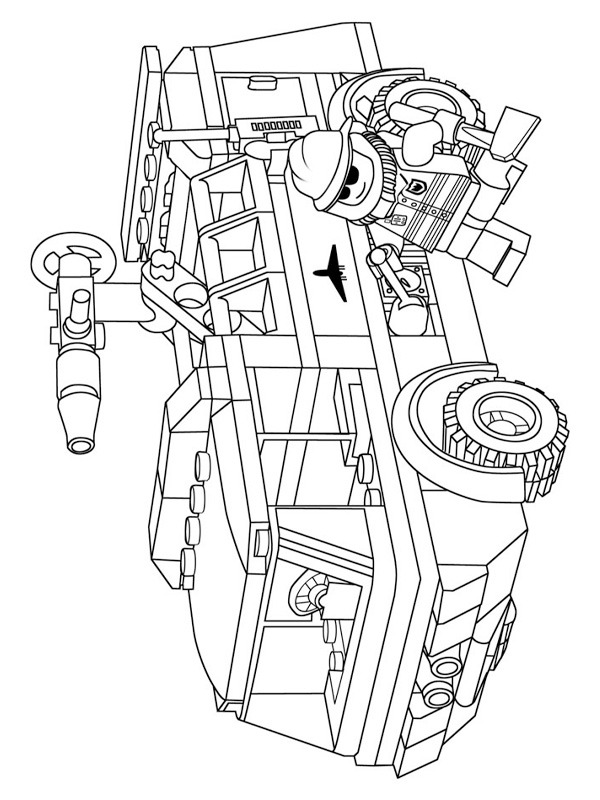 lego truck coloring pages colouring page lego fire truck coloringpageca truck pages lego coloring