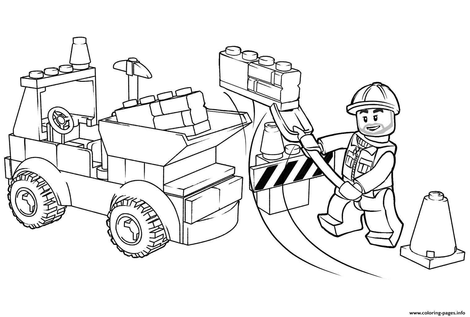 lego truck coloring pages lego city fire truck coloring page free printable truck pages lego coloring