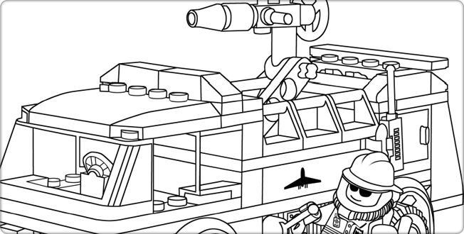 lego truck coloring pages lego fire truck coloring page get coloring pages truck lego coloring pages