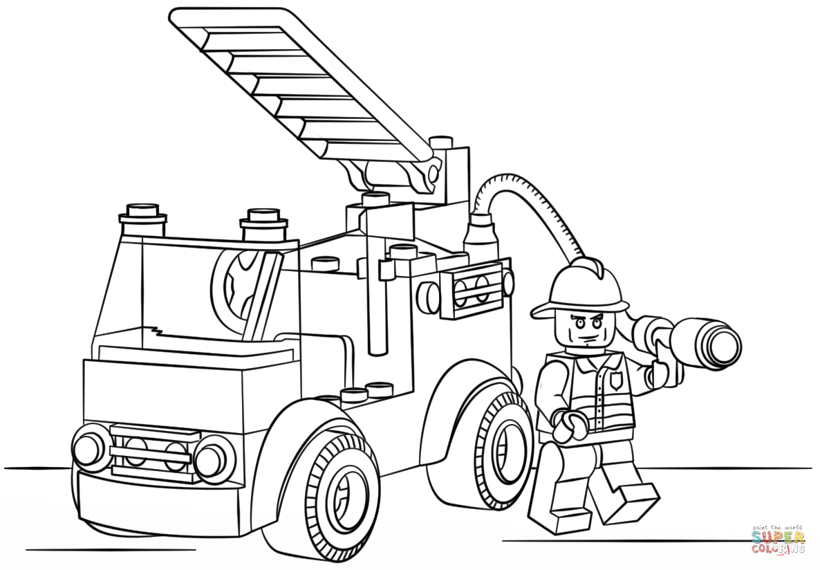lego truck coloring pages lego fire truck coloring pages lego city downloads coloring pages lego truck