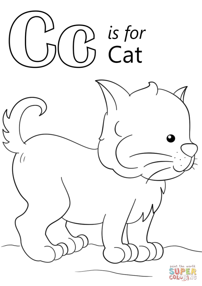 letter c coloring pages printable get this letter c coloring pages cat 63bma letter pages c coloring printable